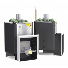 Газовая печь для бани Ермак Уралочка 20 с автоматикой