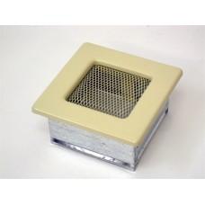 Вентиляционная решетка Kratki 11х11 бежевая