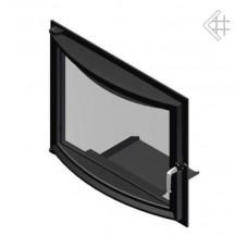 Дверца в сборе для топок Kratki Ameila/Felix (панорама)
