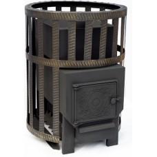 Печь-камин Березка Викинг 24 кортоп