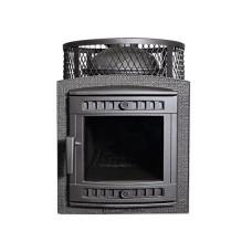 Банная печь Prometall Атмосфера М с сеткой для камней