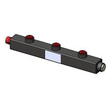 Гидравлический коллектор Zota универсальный, 3 контура