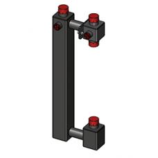 Корпус насосного модуля Zota 25-40 (для насоса180)