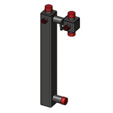 Корпус насосного модуля Zota 25-40 (для смесителя + насос 180)