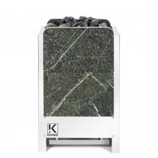 Электрическая печь KARINA Люкс 10 кВт 380В в камне серпентинит вертикальный