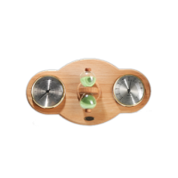 Tylo Термогигрометр с песочными часами COLLAGE, ольха, арт. 90071012