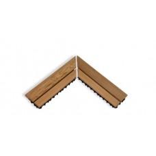 Коврик деревянный на пол SAWO 595-D-CNR (угловой)