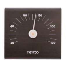 RENTO Термометр алюминиевый для сауны SQ, какао, арт. 223829