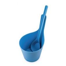 RENTO Комплект для сауны PISARA, синий, арт. 251417