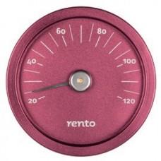 RENTO Термометр алюминиевый для сауны, клюква, арт. 263793