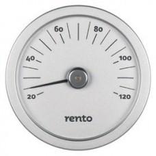 RENTO Термометр алюминиевый для сауны, алюминий, арт. 263790