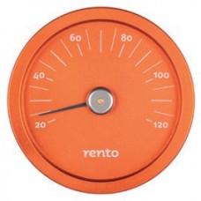 RENTO Термометр алюминиевый для сауны, облепиха, арт. 263792