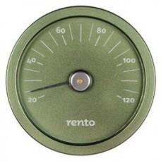 RENTO Термометр алюминиевый для сауны, хвоя, арт. 263791