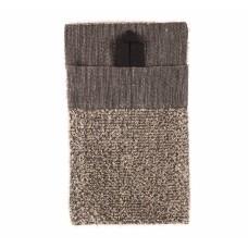 RENTO Мочалка-рукавица 14х24 см, махровый лён, арт. 265141