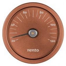 RENTO Термометр алюминиевый для сауны, медь, арт. 276429