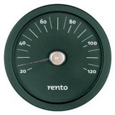 RENTO Термометр алюминиевый для сауны, малахит, арт. 276433
