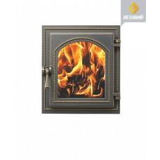 Дверь Везувий 220 стекло (бронза)