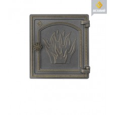 Дверка Везувий печная ДТ-4 (бронза)