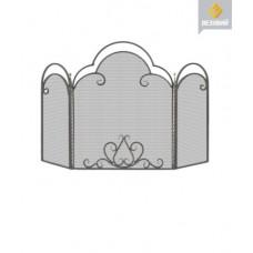 Каминный экран Везувий C 130 (B,S,Ч.)