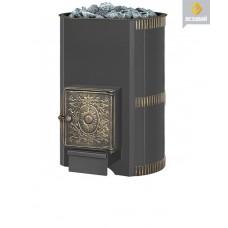Печь для бани дровяная Везувий Лава 28 (дт-4) б/в