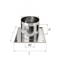 Потолочно проходной узел (430/0,5 мм) Ø 80
