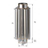 Дымоход конвектор (439/0,8 мм) Ф 110