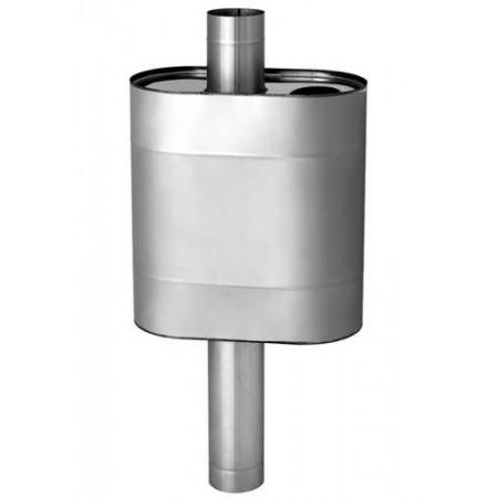 Бак ЭЛИТ 50л эллиптический на трубе Ф 115 (AISI 304)