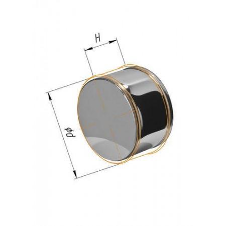Заглушка (430/0,5 мм) Ф 120 внешняя