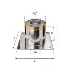 Потолочно проходной узел (430/0,5 мм+термо) Ф 120