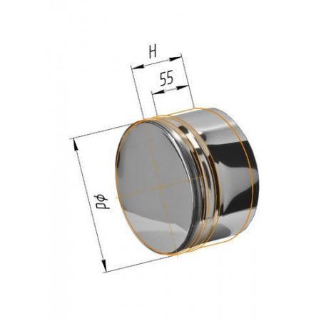 Заглушка (430/0,5 мм) Ф 125 внутренняя
