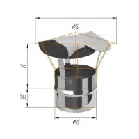Зонт-К (430/0,5 мм) Ø 130
