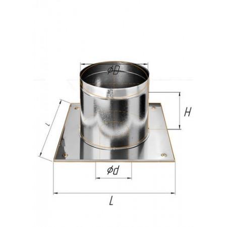 Потолочно проходной узел (430/0,5 мм) Ф 135