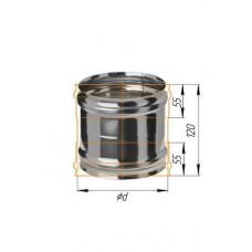 Адаптер ММ (439/0,8 мм) Ф 150