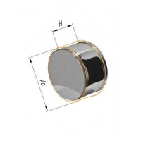 Заглушка (430/0,5 мм) Ф 150 внешняя