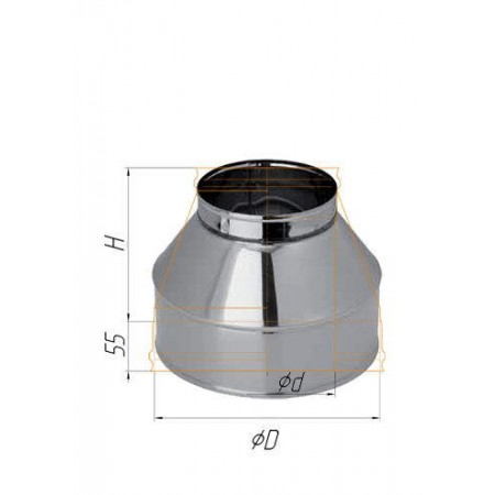 Конус (430/0,5 мм) Ø 150х250 К