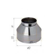 Конус (430/0,5 мм) Ф 180х280 К