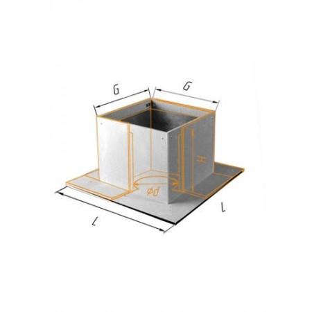 Потолочно проходной узел (430/0,5 мм + минерит) Ф 200