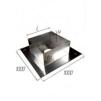 Потолочно проходной узел 1000 (430/1 мм) Ф 200