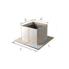 Потолочно проходной узел (430/0,5 мм + минерит) Ф 250