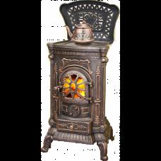 Печь-камин AMBRA Bronze