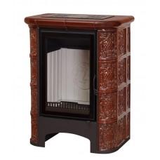 Печь-Камин «София» Барокко коричневая