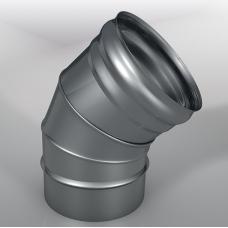 Отвод 45° DOM Моно, диаметр 115 мм