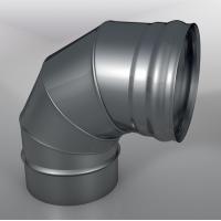 Отвод 90° DOM Моно, диаметр 115 мм