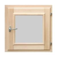 Окно для бани квадратное 300*300 мм