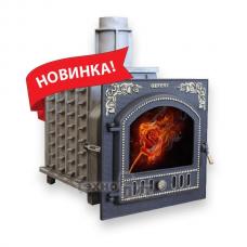 Чугунная банная печь - ПБ-03 «Панорама»