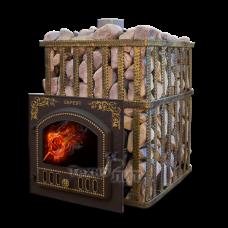 Чугунная банная печь - ПБ-03 ПC
