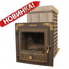 Чугунная банная печь - ПБ-03М ЗК - закрытая каменка