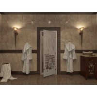 Стекляная дверь Doorwood Банька-2