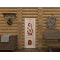 Дверь глухая для бани-5