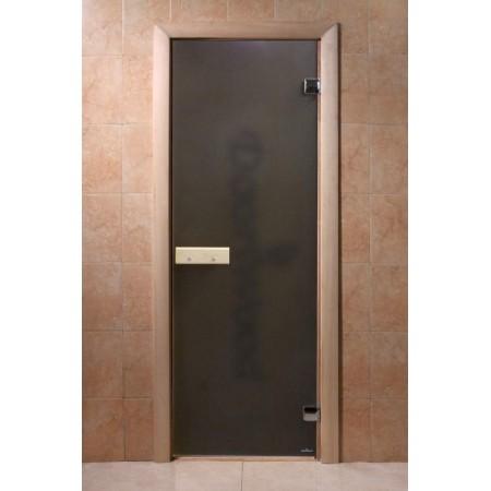 Стекляная дверь Doorwood Теплая ночь бронза
